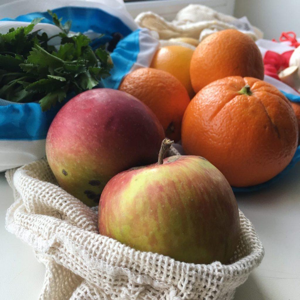 Как хранить продукты в тканевом пакете